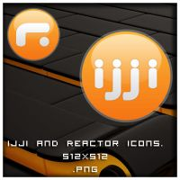 ijji and Reactor icons by Superxero0