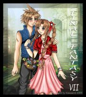 Aeris and Cloud by Nawal