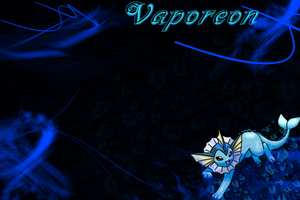 Vaporeon Wallpaper by SlaveWolfy