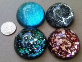 Handmade paperweights by Mystikka