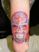 Sugar Skull by Inkcastle