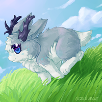 { Contest Prize for PillowRabbit } Race Ya! by azulunae