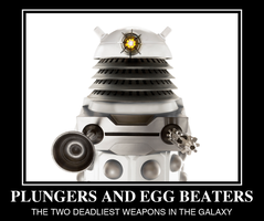 Plungers and Egg Beaters by adscomics