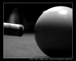 The Cue and the Ball by vikingexposure