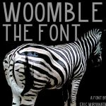 Woomble-Font by sampratot