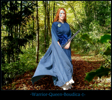 The Warrior Queen Boudica I by Nightsrose