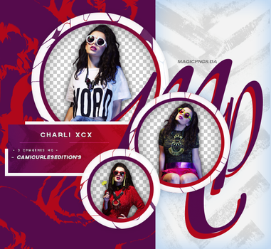 PACK PNG 626| CHARLI XCX by MAGIC-PNGS