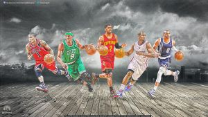 Top Point Guards by lisong24kobe