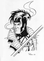 Gambit Sketch by tonyperna