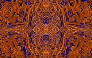 Blender Symmetrical Abstract by VickyM72