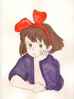 Random Art: Kiki's Delivery Service by jimmypage91
