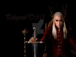Thranduil winter by Pelegrin-tn