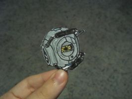 Portal 2 Paperbot- Space Core by koala823