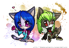 .:Chibi Chibi Love Desu:. by Amarena-Berry