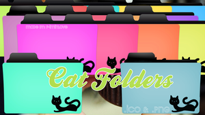 Cat Folders by F-Iminlove