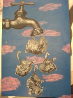 water faucet possums surreal by SAVEaTHOUSAND