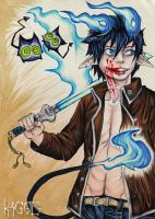 The Blue Exorcist by Kagoe