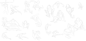 Random Poses by Dr-Hazmat