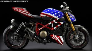 Ducati Streetfighter Hayden Edition by SAMUXX
