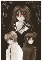 Vampire Knight fanart by small-light