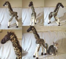 Giraffe Plush by AnimalArtKingdom