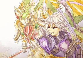 Brave Frontier - Master and Servant by Vayreceane