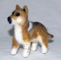 Needle Felted Mix Breed Dog II by The-GoblinQueen