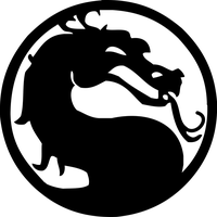 Mortal Kombat logo vector by reptiletc