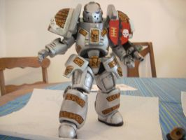 warhammer 40k custom knight by soulbrother73