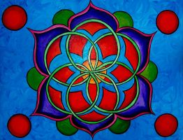 mandala series compassion by Poppyprincess23