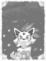 Cold sky by KoiuBlaze