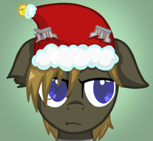 Merry Christmas from Blaze by DalekWithAKeyblade