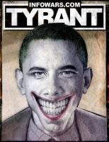 Obama Joker Poster by virtuadc