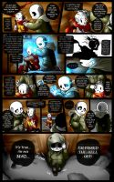 Reminiscence: Undertale Fan Comic Pg. 19 by Smudgeandfrank