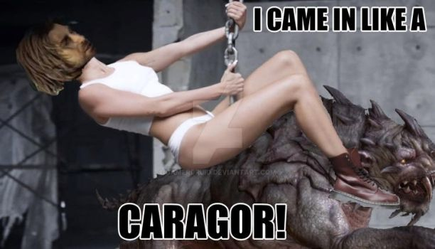 Came In Like A Caragor! by GamerDruid