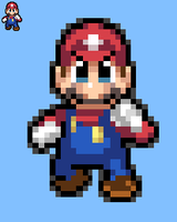 SSBU-SSB3Ds-SBBZ Mario color sheet by KingAsylus91