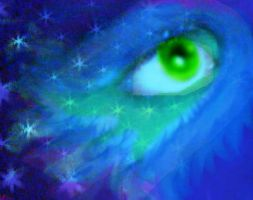 peacock eye by octowhat