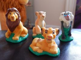 Lion King Kiddies Playset by OliveTree2