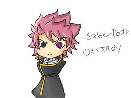 Natsu VI britannia Destroy Sabertooth by WilliamHighness
