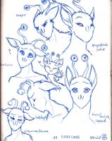 Aximili Facial Expressions by Doublevisionary