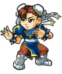 Street Fighter V - Chun-Li Chibi by fastg35