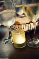 water and white wine by Togusa208