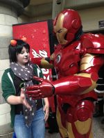 comicon #2 - i didnt know what iron man meant by T0KiBUTT