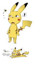 Pikachu is TOO curious by ZeTrystan