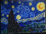 Starry night with stars by xxeks