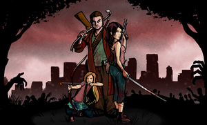 Zombie Survivors 2012 by Garrenh