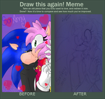 SonAmy 2010 - 2015 by CristalArual