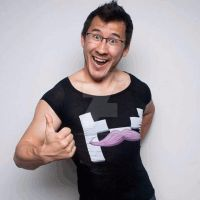 Markiplier posing like a BOSS xD by SteffieNeko