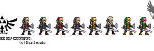 JUS Smash Bros Link- Colors of Link by XTP597