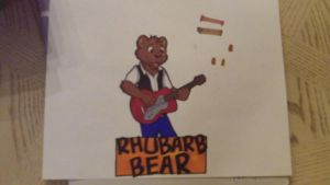 Rhubarb Bear (traditional) by Silverfang98